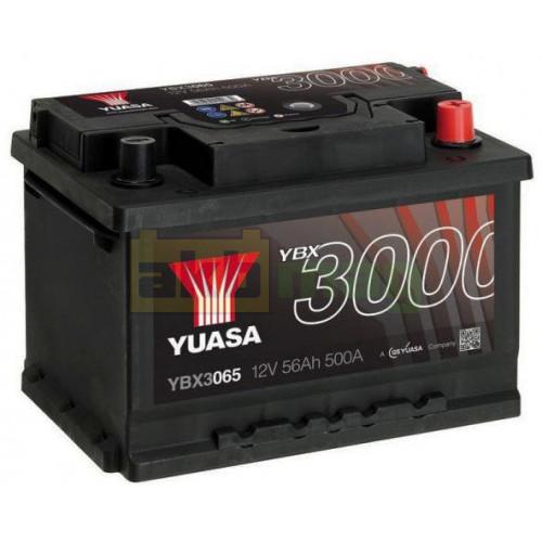 Автомобильный аккумулятор Yuasa 6СТ-56 SMF YBX3065