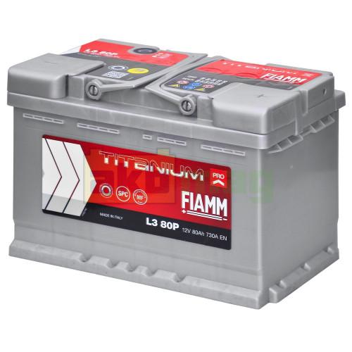 Автомобильный аккумулятор Fiamm 6СТ-80 Titanium Pro